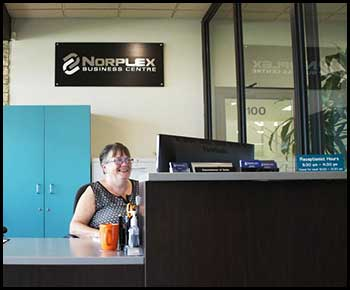 Norplex Front Reception